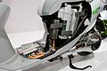 Suzuki e-Let's cutaway model detail 2011 Tokyo Motor Show.jpg