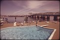 Swimming Pool of Thunderbird Motel on the Columbia River Within Yards of the Interstate Bridge Connecting Washington and Oregon 05-1973 (4272333826).jpg