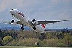 Swiss International Air Lines Boeing 777-3DE-ER HB-JNB (33401055504).jpg