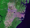 Satellite image of Sydney