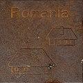 Symbol of Romania by Helmut Blažej, Bleiburg.jpg