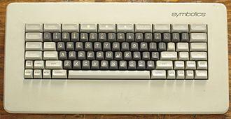 Meta key - Image: Symbolics keyboard