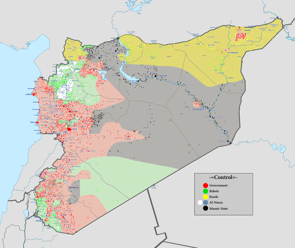 Syrian civil war 01 06 2016
