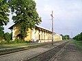 Szőreg állomás felújított raktárépület.JPG