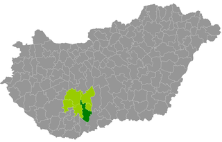Szekszárd District Districts of Hungary in Tolna