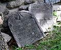 Třebíč Jüdischer Friedhof - Grabsteine 6.jpg