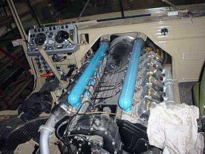 Tatra 813 - Image: T813 Engine