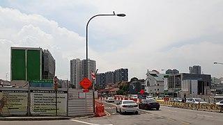 Upper Thomson MRT station MRT station in Singapore