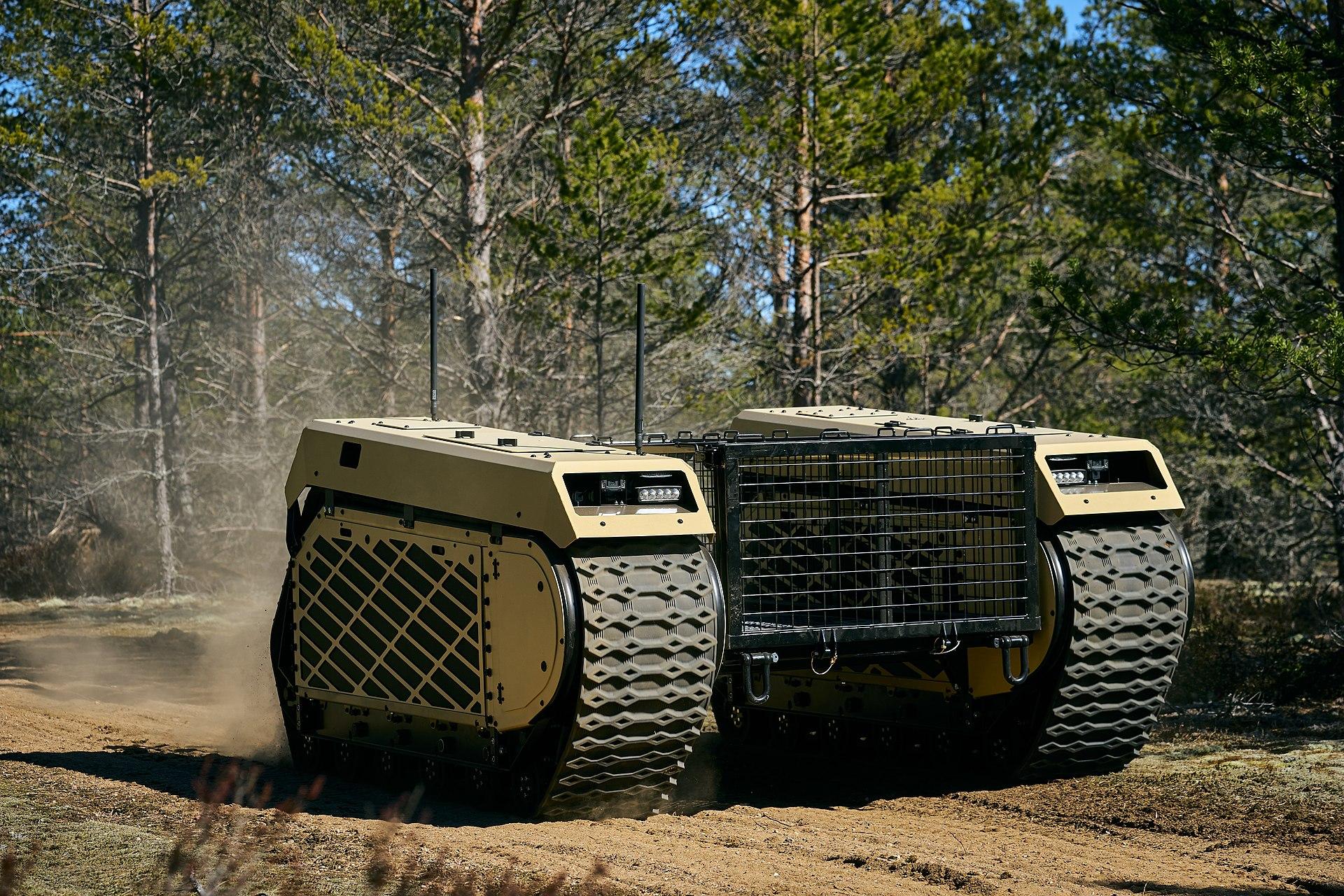 Боевой робот из ... Эстонии!