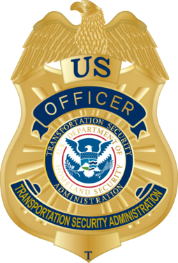 Badge of a Transportation Security Officer TSA Officer Badge.png