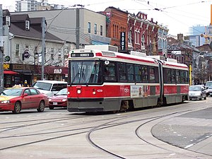 Urban Transportation Development Corporation - Image: TTC Bombardier ALRV 4239
