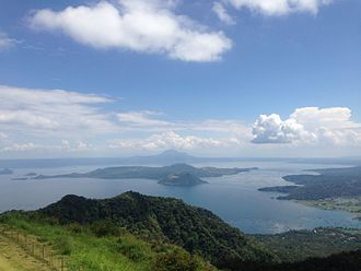Tagaytay - View of the Taal Lake and Volcano from Tagaytay