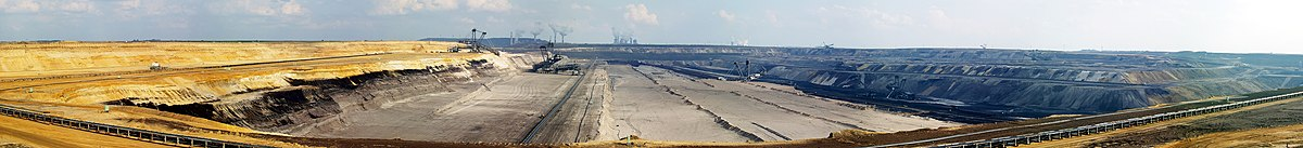 Garzweiler open-pit mine, Germany