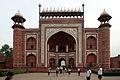 Taj Mahal gate-2.jpg