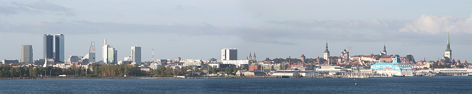 Panorama of Tallinn's City Centre