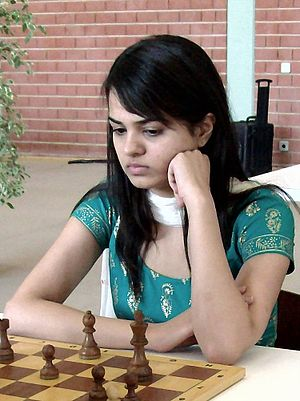 Tania Sachdev, chess player from India