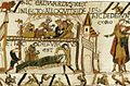 Tapestry by unknown weaver - The Bayeux Tapestry (detail) - WGA24166.jpg