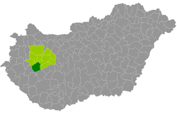 magyarország térkép tapolca Tapolcai járás – Wikipédia magyarország térkép tapolca