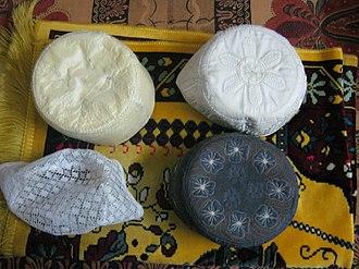 """Taqiyah (cap) - Traditional 4 types of """"Tupi"""" in Bangladesh"""