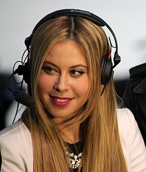 Tara Lipinski - Lipinski at the 2014 Sochi Olympics