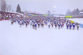 Tartu Maraton - The start of Tartu Marathon in 2006.