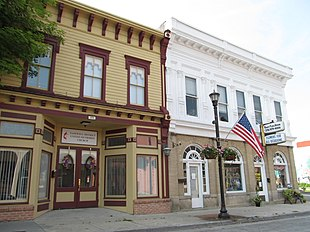 Downtown Tazewell (photographed by Doug Kerr)