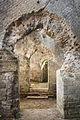 Teatro di Cales - Aperture nei setti di sostruzione della cavea.JPG