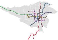 Tehran Metro map-geo.png