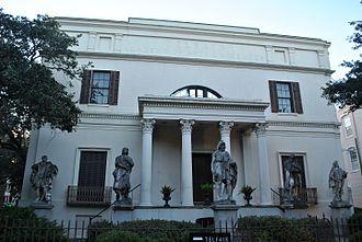 Edward Telfair - Telfair Academy, 1818, family mansion of Mary Telfair