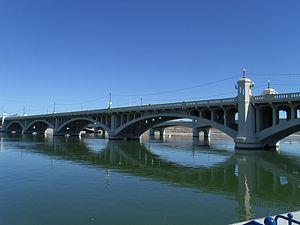 National Register of Historic Places listings in Maricopa County, Arizona - Image: Tempe Bridge 1931