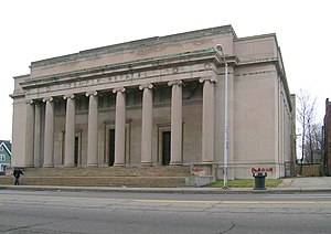 Temple Beth El (Detroit) - 1922-1973 temple at 8801 Woodward Avenue