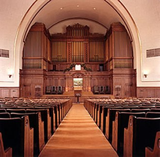 Temple Israel (Memphis, Tennessee) - Sanctuary, Poplar and Montgomery building