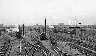 Temple Mills - Temple Mills Marshalling Yard in 1956