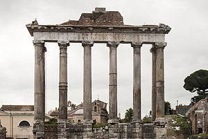 Temple of Saturn - Image: Temple of Saturn, Rome