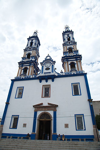 Ameca, Jalisco - Temple of our Lady of Guadalupe Virgin de Guadalupe.