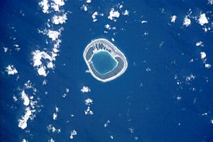 Tenararo - NASA picture of Tenararo Atoll