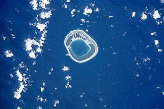 Tenararo - NASA picture of Tenararo Atoll