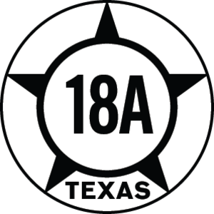 Texas State Highway 18 - Image: Texas Hist SH18A