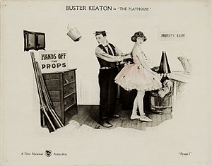 The Playhouse (film) - Lobby card for the film
