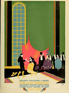 <i>The Unattainable</i> 1916 drama film directed by Lloyd B. Carleton