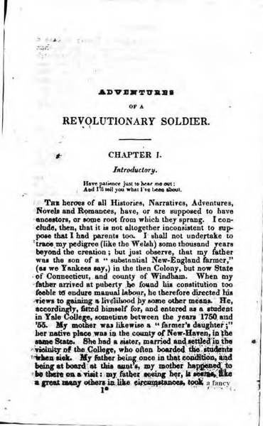 a narrative of a revolutionary soldier A narrative of a revolutionary soldier some adventures, dangers, and sufferings of joseph plumb martin about a narrative of a revolutionary soldier with a new afterword by william chad stanley here a private in the continental army of the revolutionary war narrates his adventures in.