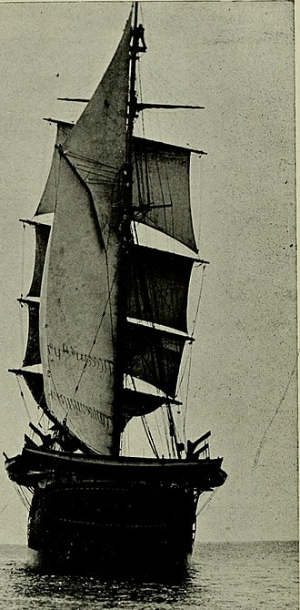 Robert Cushman Murphy - The whaling ship, Daisy, which Murphy traveled on to the Antarctic