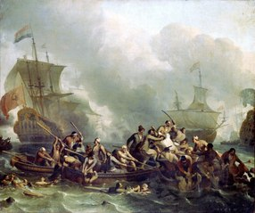 The Battle of The Texel, 11 August 1673