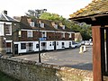 The Bell Inn from the lych gate, St Mary's church - geograph.org.uk - 1638460.jpg