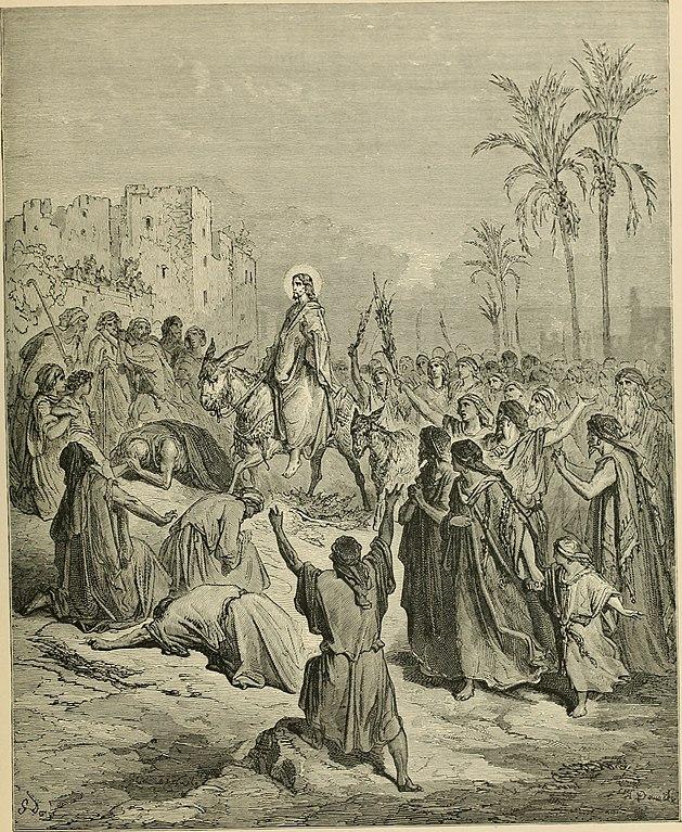 예수님의 예루살렘 입성 (귀스타브 도레, Gustave Dore, 1866년)