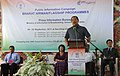 The Chief Minister of Mizoram, Shri Lal Thanhawla addressing the 49th Bharat Nirman Public Information Campaign, at Tualvungi Hall, Thenzawl on September 20, 2011.jpg