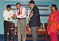 The Commissioner of Information and Public Relations, Manipur, Shri K. Radhakumar lighting the lamp to inaugurate the Rural Media Workshop, organised by the Press Information Bureau, Imphal, at Press Club, Imphal, Manipur.jpg