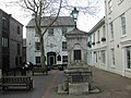 The Dartmouth Inn and the Victoria Fountain, Totnes - geograph.org.uk - 370126.jpg