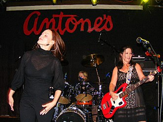 Belinda Carlisle - Carlisle live with The Go-Go's, Austin, Texas, 2008.