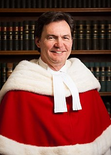 Chief Justice of Canada presiding judge of the Supreme Court of Canada